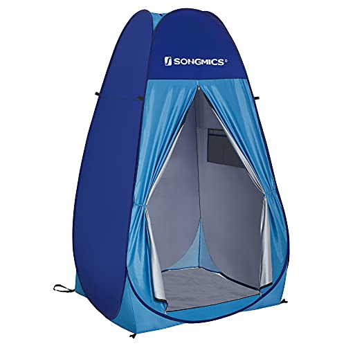 SONGMICS Pop up Privacy Tent, Portable Camping Shower Toilet Changing...