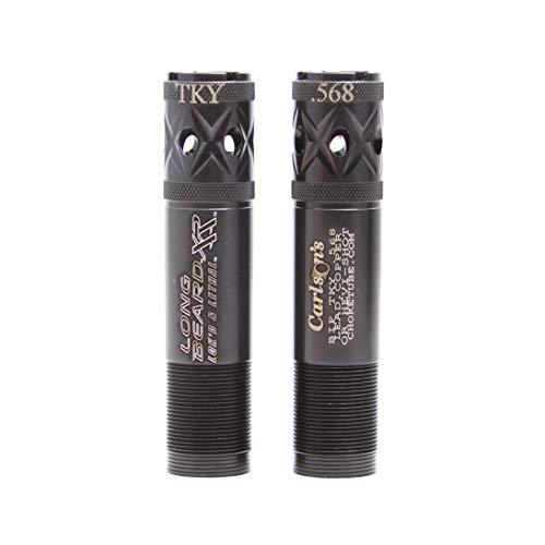 Carlsons 70145, Browning Invector Plus 20 Gauge Long Beard Choke Tube, Turkey, Black, 0.568