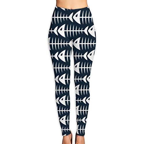 HDHDH Frauen Yoga Hose Fishbone Elastic Workout Running Leggings Hose