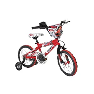Dynacraft Hot Wheels Boys BMX Street/Dirt Bike with Hand Brake -