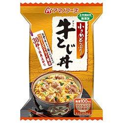 アマノフーズ フリーズドライ 牛とじ丼 4食×12箱入