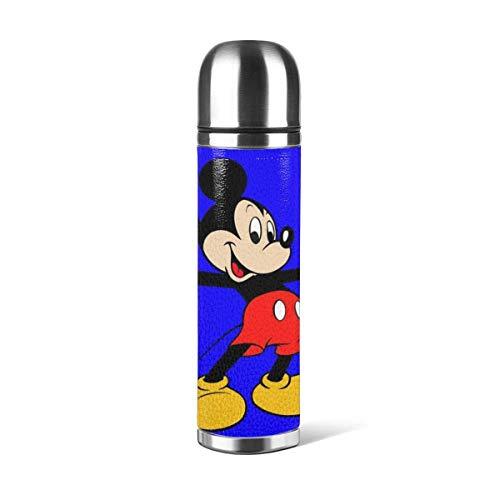 AEMAPE Taza de Agua de Mickey Mouse al vacío Botella de Agua...