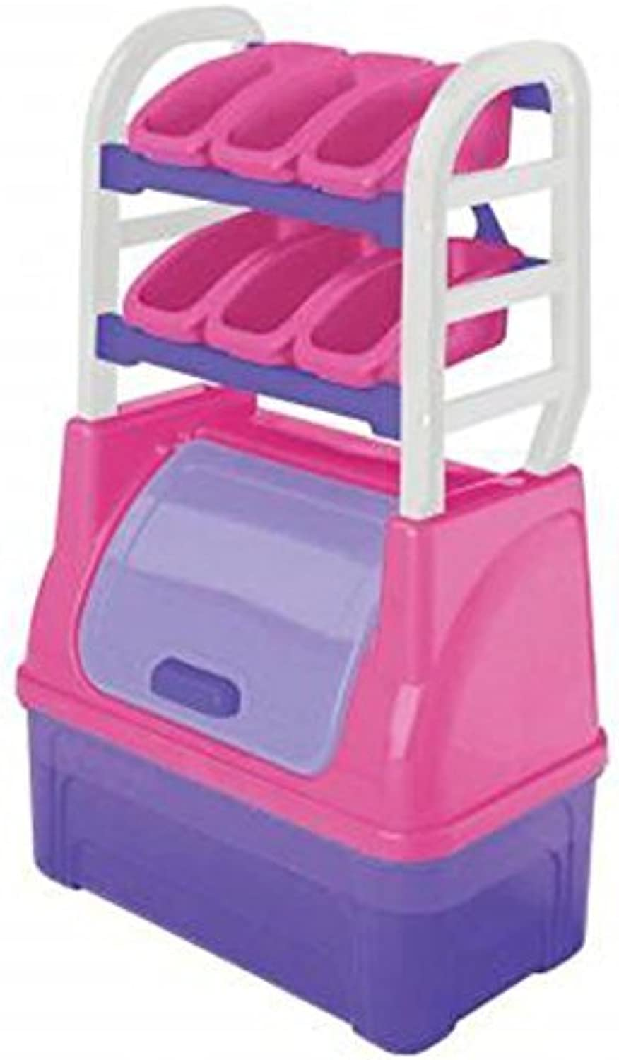 American Plastic Toys Girl's Toy Organizer Playset by American Plastic Toys