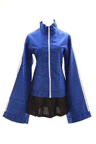 Kawaii-Story MN-09 Miku Vocaloid Blu Kagerou Project Giacca Rock Cosplay Set Costume