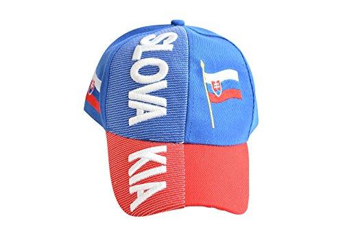 Kappe Motiv Slowakei Fahne, nation - Cap mit slowakischer Fahne