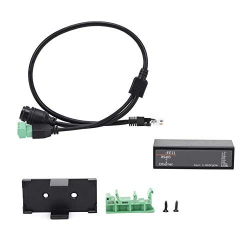 Weikeya Servidor de puerto serie, servidor de dispositivo automático de encuadre 2400-460800bps de la ayuda hecha plástica para el software de Iotservice