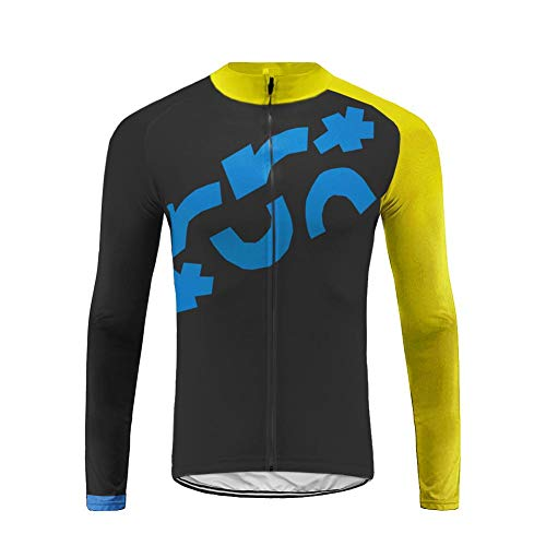Uglyfrog Homme Hiver Fleece Warm Respirant Maillot Cyclisme Manches Longues Jersey des Sports Tops