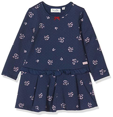 Sanetta Fiftyseven Kleid Robe, Bleu (Deep Blue 5993), 62 (Taille Fabricant: 062) Bébé Fille