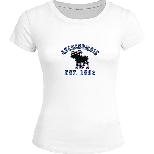 AF Abercrombie Fitch impreso para mujer camiseta Tee Outlet