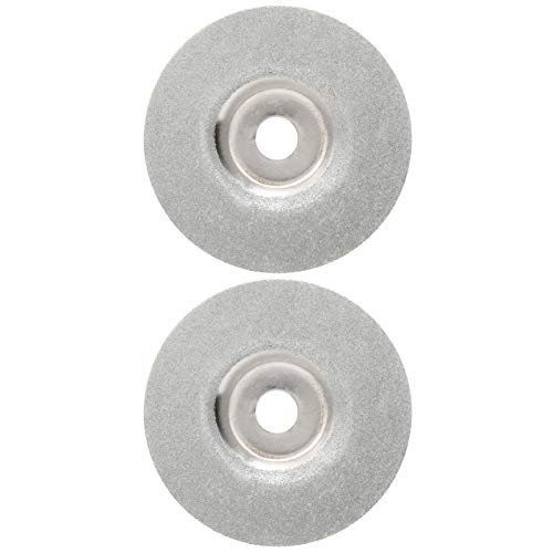 Jeanoko 2pcs disco de molienda, para azulejos de granito de cerámica, disco de corte de diamante de cerámica,