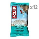 CLIF BAR - Energy Bar - Cool Mint Chocolate (2.4 Ounce Protein Bar, 12 Count)