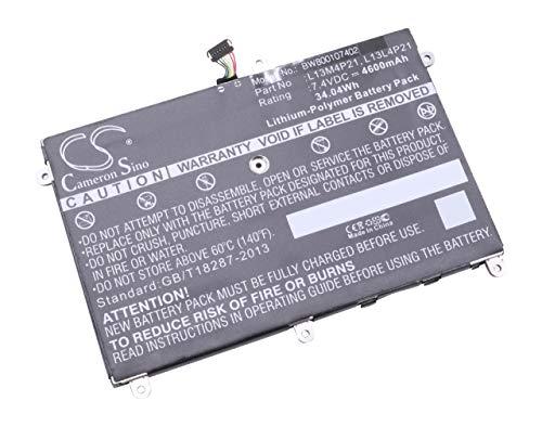 Batterie Li-Polymer 4600mAh (7.4V) vhbw pour Notebook Lenovo Yoga 2 11, Yoga 2 11 11.6\