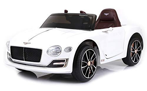 Bentley Macchina Elettrica per Bambini 6V EXP 12 Bianca