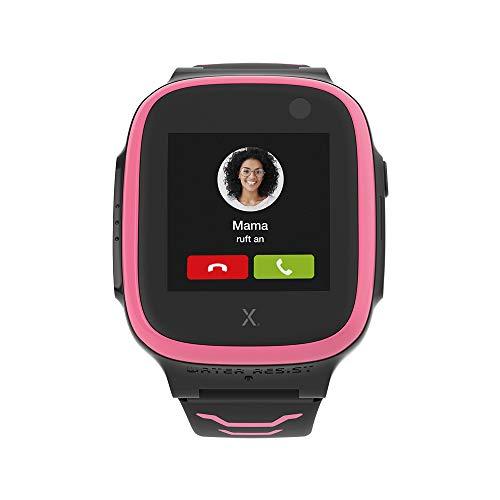 XPLORA X5 NanoSIM Smartwatch für Kinder (ohne SIM) 4G - Anrufe, Nachrichten, Schulmodus, SOS Funktion, GPS Location, Kamera, 2 Jahre Garantie (pink)