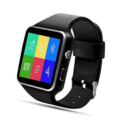 SEPVER Smartwatch Orologio Fitness Uomo Donna Orologio Touch Screen Contapassi Activity Tracker con SIM Slot Cronometro Notifiche Messaggi, Controllo della Musica per Android Huawei Samsung Xiaomi