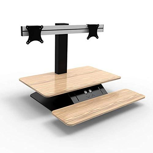 Elektrische stahulp voor op en neer werkbank, in hoogte verstelbare tafel monitor/toetsenbord riser, A B
