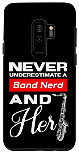 Galaxy S9+ Funny Alto Saxophone for Girls Marching Band Case