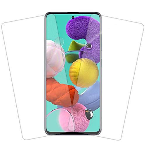 Zarala Samsung Galaxy M51 Full Coverage superzoom Glass .3mm Edge to Edge lite Tempered Glass for Samsung Galaxy M52 (2 pice)