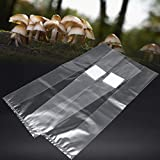 Libelyef - Bolsa de cultivo de setas de PVC, sustrato de alta temperatura, resistente a altas temperaturas, múltiples opciones (10/20/50 unidades)