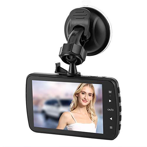 iFCOW Enregistreur de Conduite 3. 5In LCD 1080P Enregistreur de Conduite Double Caméra 170 ° Grand Angle Clair Vision Nocturne Voiture Dvr Dashcam