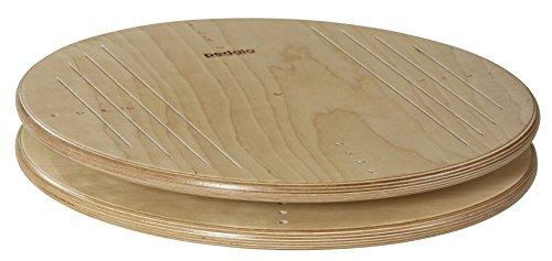 pedalo Twister 50 cm aus Holz I Gleichgewichtstrainer I Balance Board I Koordination I Karussell I Drehscheibe