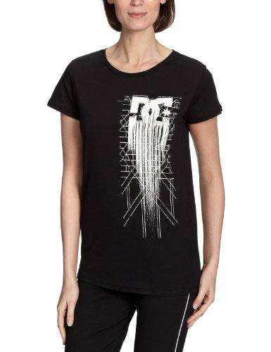 DC Shoes The End - Camiseta para Mujer, Mujer, D063200167, Negro, Extra-Large