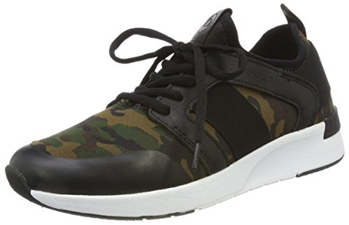 bugatti Damen 442271656900 Sneaker, Grün (Dark Green 7100), 38 EU