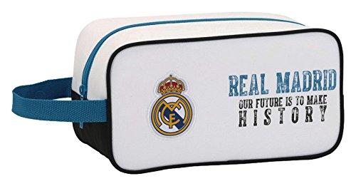 Real Madrid 811754682 schoenenkast, 29 x 15 x 14 cm, wit