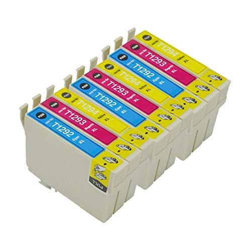 Karl Aiken 5 T1295 - Cartuchos de tinta compatibles con Epson Stylus SX235W SX420W SX425W SX435W SX525WD SX535WD Workforce WF-3520 WF-7515