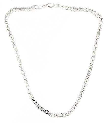 Königskette 925 Silber 5 mm 60 cm Silberkette Halskette Damen Herren Anhängerkette Schmuck ab Fabrik tendenze Italy D-BZ5-60v