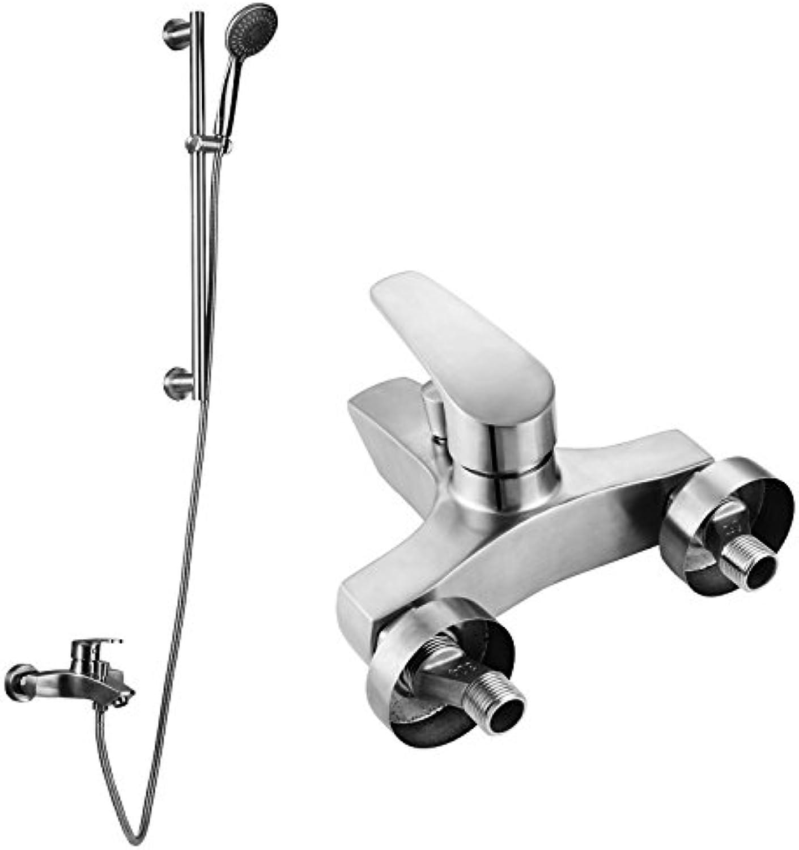 Electroplating Retro Faucet Edelstahl Dusche Dusche_304 Edelstahl Dusche Dusche Unter Druck Dusche Gesetzt Kalt Und Hei Sprinkler