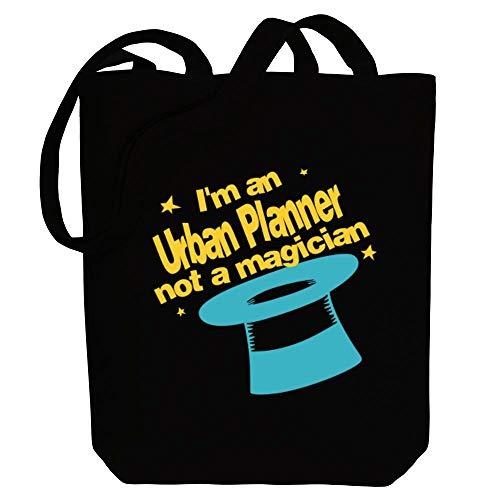 Idakoos I'm a Urban Planner, not a magician Canvas Tote Bag 10.5' x 16' x 4'