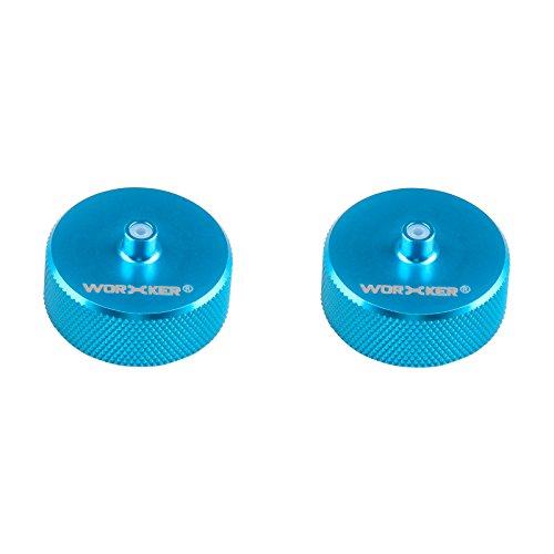 Worker Mod Kits de volante tipo preciso cámara de volante y Nerf N-strike Elite Stryfe/Rapidstrike CS-18 juguete color azul