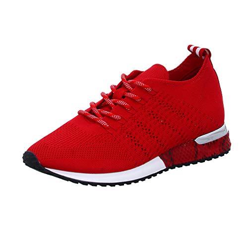 La Strada 1802649 Sneaker Red Knitted 40