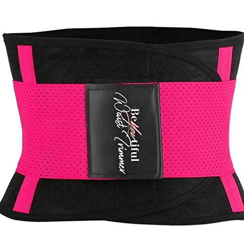 BeYOUtiful Women's Double Strap Adjustable Sauna Corset Waist Trainer is Just What You Need to Maximize Your Weight Loss Goals