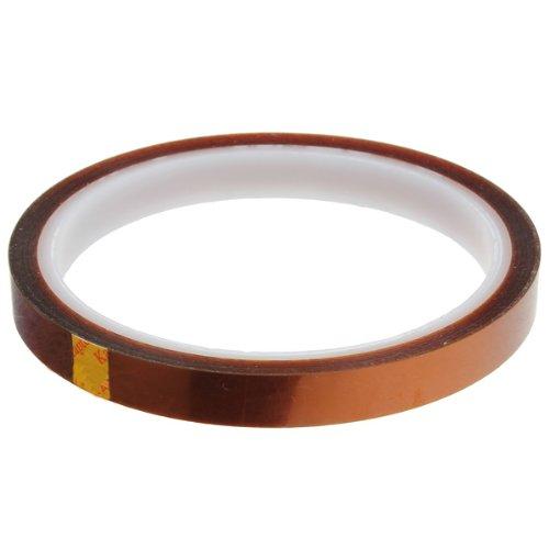 10mm Band Klebeband hitzebeständiges Abdeckband Heißklebeband bis 350°C Wärmeklasse