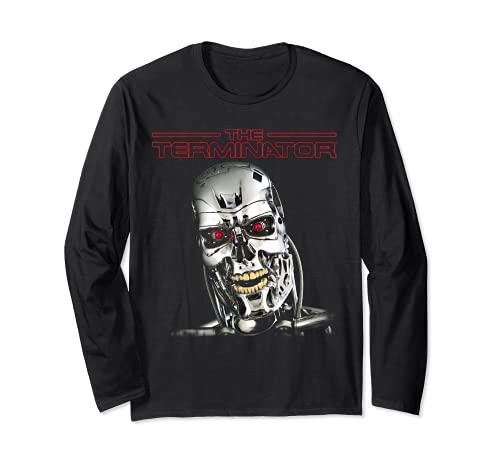 The Terminator T-800 Long Sleeve T-shirt, Black