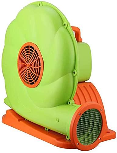 TYSJL Soplador Inflable de la casa del soplador del soplador para el Castillo Inflable y Las Diapositivas de Salto, el Ventilador Inflable portátil y Potente del soplador (250W / 370W / 550W / 750W)
