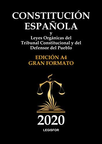 Constitución Española y Leyes Orgánicas del Tribunal Constitucional y del Defensor del Pueblo