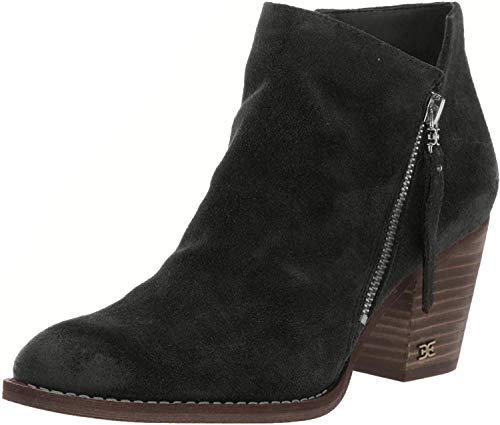 Sam Edelman Macon Black Resinato Velutto Suede Leather 6