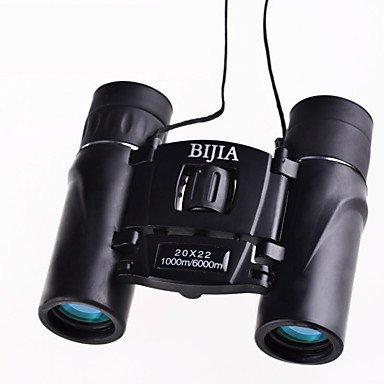WYFC 20x22 mm Jumelles HD BAK4 Etanche / Générique / Prisme en toit / Porro Prism / Haute Définition / Télescope