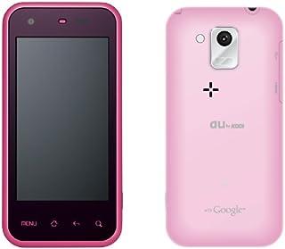au スマートフォン IS05 ピンク SHARP Android2.2搭載 白ロム 携帯電話本体標準セット