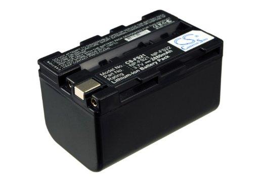 Replacement Akku für Sony NP-FS20, NP-FS21, NP-FS22, DCR-PC5E, DCR-PC3E, DCR-PC1, DCR-PC2E, DCR-PC5, DCR-PC3, DCR-PC1E, DCR-PC5L, DCR-PC4, DCR-PC2, DCR-TRV1VE, DCR-PC4E