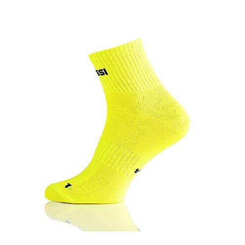 Nessi Chaussettes de sport RKD, plusieurs couleurs, jaune, 42-44 cm