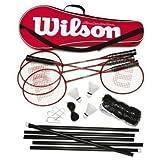 Wilson Tour - Juego Completo de bádminton para Principiantes