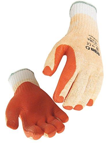 Paire de gants latex laminé. Support acrylique/polyester sans couture. Dos aéré. Singer TAP7325. Taille 8