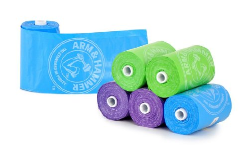 Munchkin Arm & Hammer Diaper Bag Refills, 72-Count (Pack of 4)