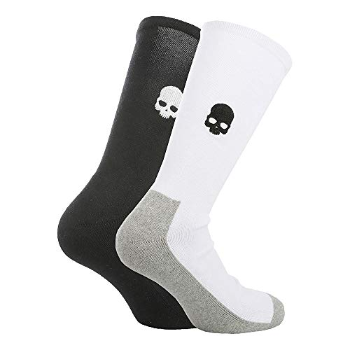 HYDROGEN Sports Socks 2 Pack White