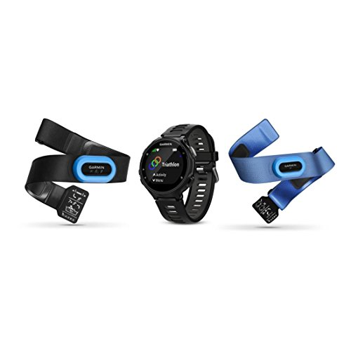 Purchase Garmin Forerunner 735XT Tri-Bundle, Multisport GPS Running Watch with Heart Rate, Includes ...