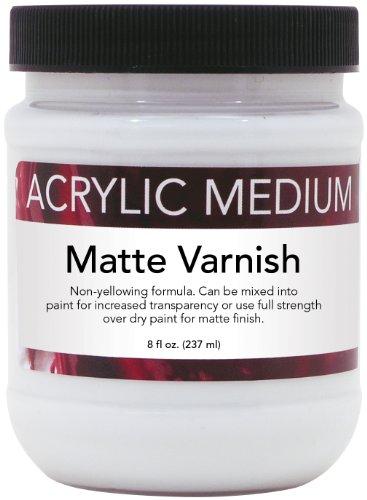 Art Advantage 8-Ounce Acrylic Medium Matte Varnish